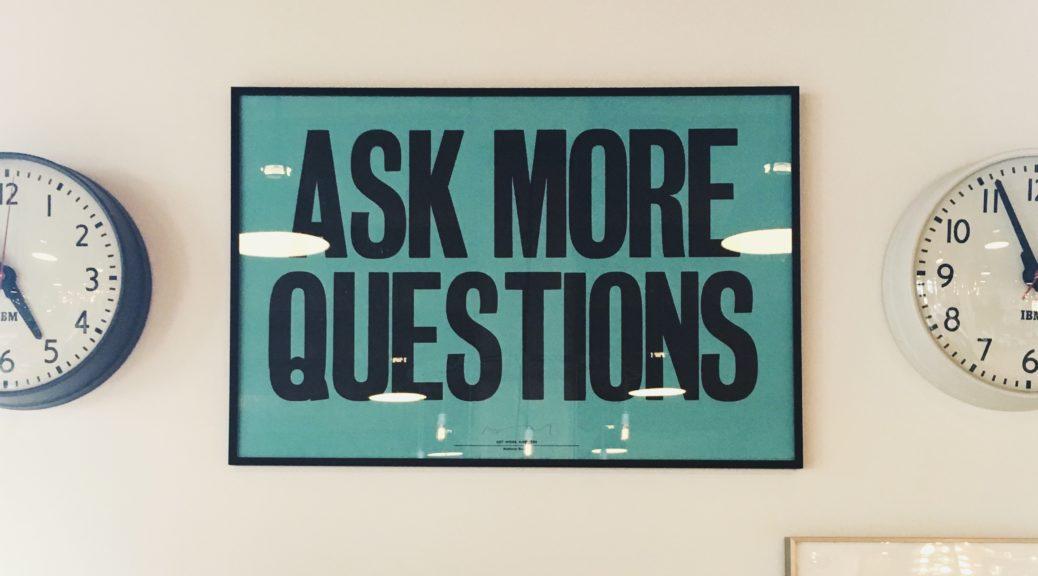 Problem solving blog focus group