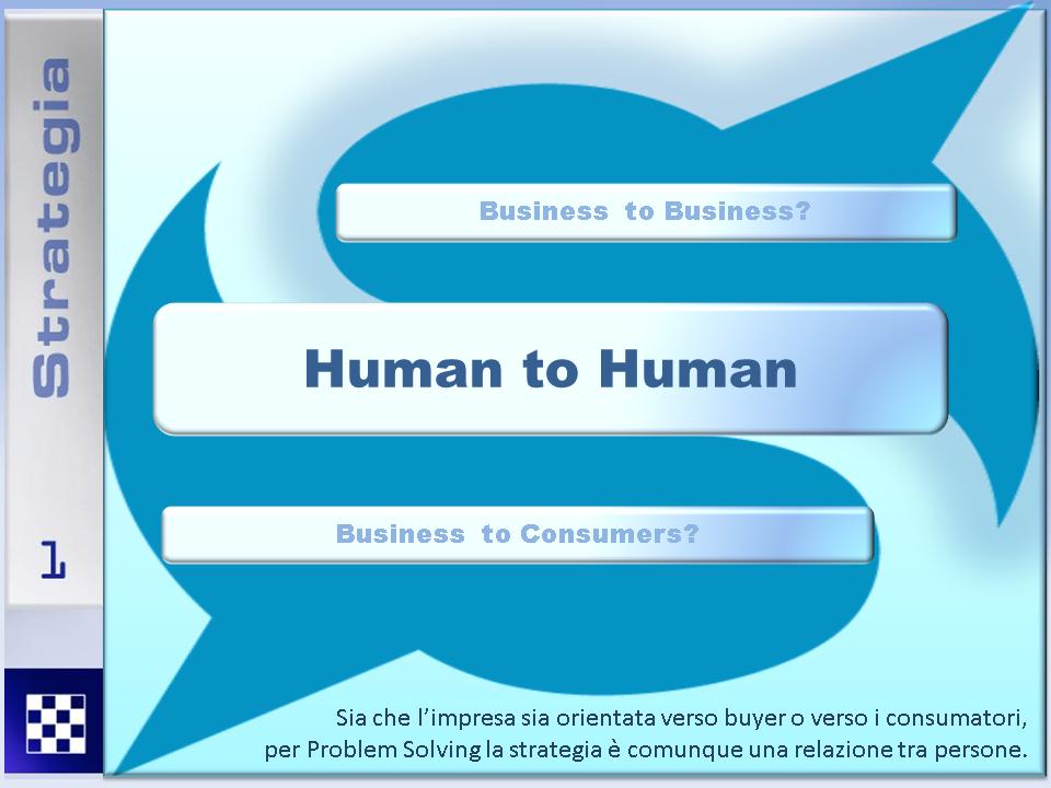 Problem solving human to human