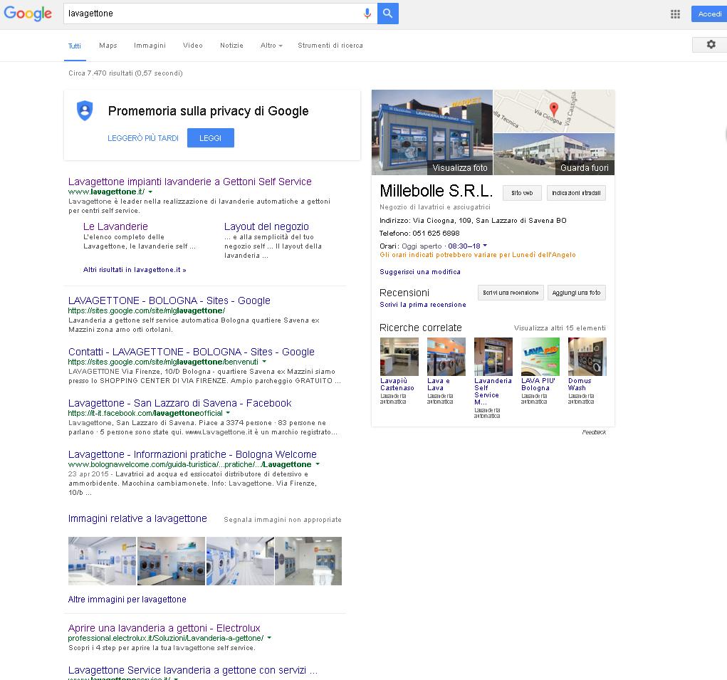 Cambia la SERP di Google.